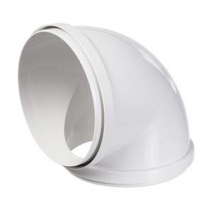 Accessoires Nuos Primo | Désignation: Coude 90° PVC 150 mm