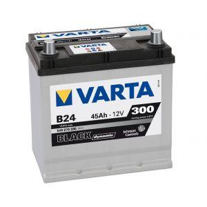 Varta Black Dynamic B24 Batterie Voitures, 12 V 45Ah 300 Amps