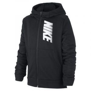 Nike Sweatà capuche à zip et à motif en tissu Fleece Dri-FIT pour Garçon plus âgé - Noir - Taille M - Male
