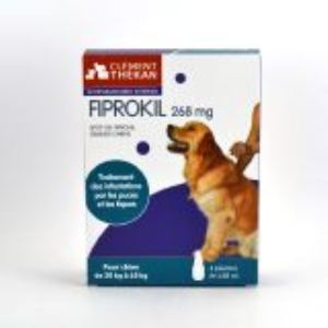Fiprokil Solution antiparasitaire Chien 20-40 kg
