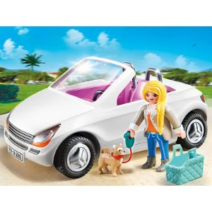 Playmobil 5585 City Life - Voiture cabriolet