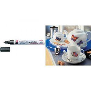 """Marabu 012335084 - Marqueur porcelaine calligraphie """"Porcelain Painter"""", doré"""