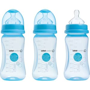 Bébé Confort 3 biberons Maternity col large en polypropylène 270 ml