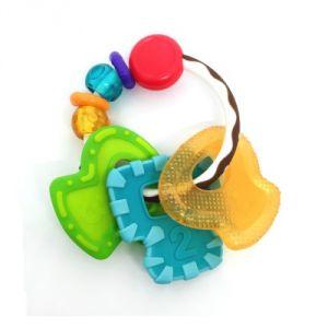 Infantino Hochet anneau de dentition multi-matières