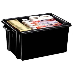 CEP Office Solutions Strata Maxi Box 32 litres Noir