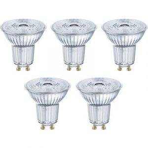 Osram Ampoule LED GU10 4058075090460 réflecteur 4.3 W = 50 W blanc chaud (Ø x L) 51 mm x 55 mm EEC: classe A+ 5 pc(s)