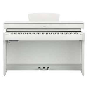 Yamaha CLP-635WH Clavinova digital piano, white