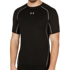 Under Armour T-Shirt Compression HeatGear manches Courtes U oir - XXL - Noir