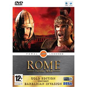Rome : Total War Gold Edition - Le jeu + l'extension Barbarian Invasion [MAC]
