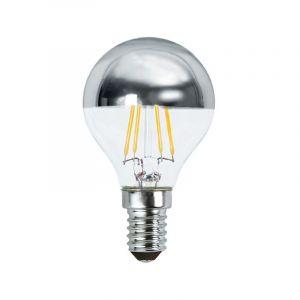 Vision-El Ampoule LED COB FILAMENT 4W (35W) E14 Blanc chaud 2700°K P45 Argent -