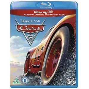 Cars 3 3D [Blu-Ray] [Import] [DVD]