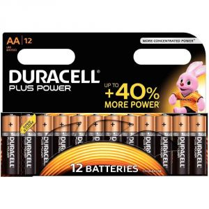 Duracell 12 piles AA LR06 1.5V Plus Power