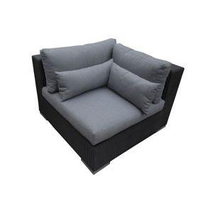 Blooma Sofa d'angle en rotin Miranda