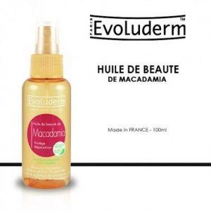 Evoluderm Huile de beauté de macadamia