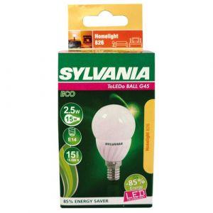 Sylvania Ampoule led Toledo flamme E14 - 2 W - 2 600 K - opale - boîte