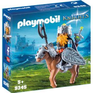 Playmobil 9345 - Combattant nain et poney