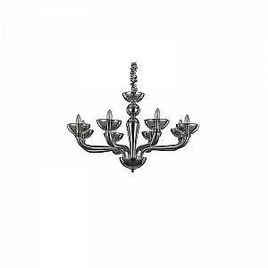 Ideal lux Lustre CASANOVA Fumé 8x40W - 095615