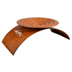 Esschert design Bain d'oiseaux rouille L