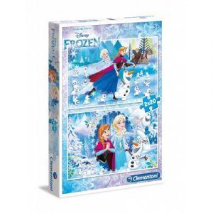 Clementoni La Reine des Neiges - 2 puzzles 20 pièces
