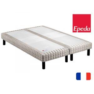 Epeda Sommier tapissier Confort Medium 160x200 avec 2 sommiers