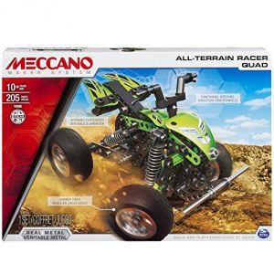 Meccano 6026718 - Quad 2 modèles