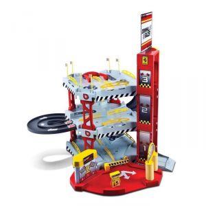 Bburago Garage Ferrari Downhill Racer avec véhicule 1/64
