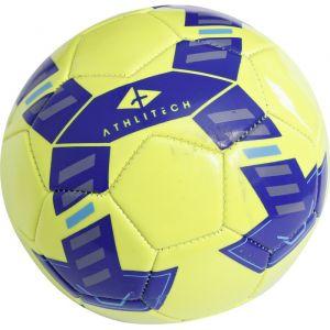 Athli-tech Ballon de football - Jaune- Taille 1 Ballon de football - Taille 1 - Jaune