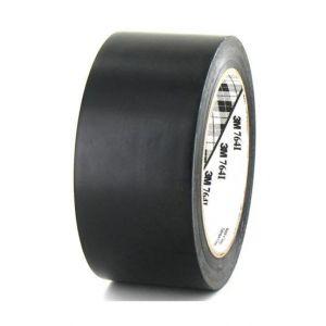 Ruban adhésif vinyle 3M 764 noir 50mm x 5