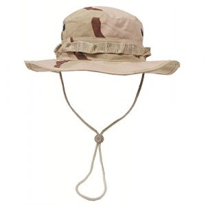 MFH US GI Chapeau de Brousse Boonie Hat (3 Couleurs Desert/S)