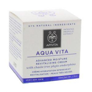 Apivita Aqua Vita - Crème hydra intensive peaux très sèches