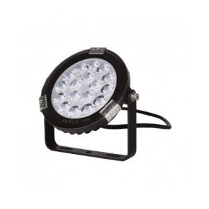 Vision-El Projecteur extérieur LED - 9W - RGB+Blanc - Noir