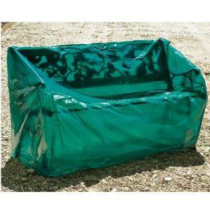 Maillesac Housse en polyéthylène pour banc de jardin 150 cm