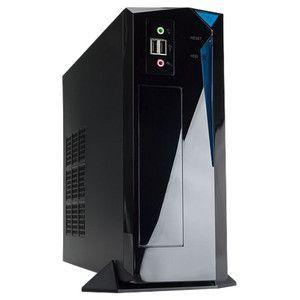 Inwin BP655 - Boîtier Desktop Mini ITX Noir avec alimentation 250W