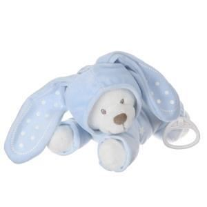 Nicotoy Peluche musicale phosphorescente ourson