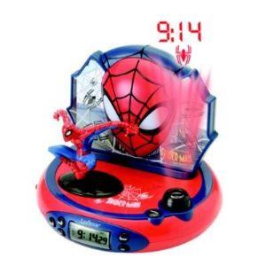 Lexibook RP500SP - Radio réveil projecteur Spider-Man