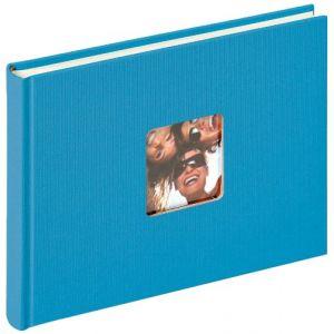 Walther Fun album photo design, bleu océan, 22 x 16 cm