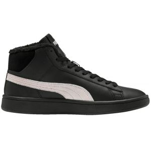 Puma Chaussures hautes - Smash v2 mid l fur - Noir Enfant 36