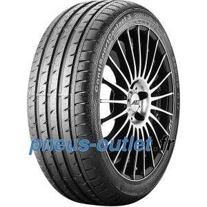 Continental 245/45 R19 98W SportContact 3 SSR * FR