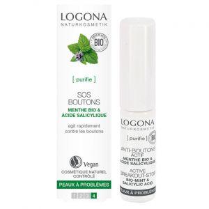 Logona SOS boutons menthe bio & acide salicylique