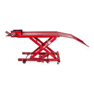 Table élévatrice moto 360 kg hydraulique largeur 55 cm bricolage outils professionnel