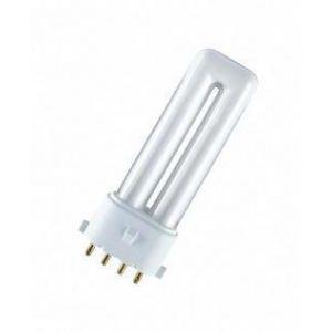 Osram LAMPE DULUX 7W/827, 2G7, 10X1 Lampe à économie d'énergie;Lampes fluorescentes compactes Duluxforme de tube2G710 000. h