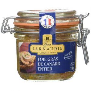 Larnaudie Foie gras de canard entier igp sud-ouest -reserve 1951- bocal 180g