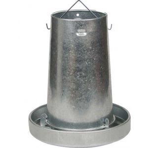 Kerbl Trémie pour volailles en acier galvanisé