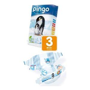 pingo Couche taille 3 Midi (4-9 kg) - paquet de 56
