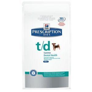 Hill's Prescription Diet t/d Mini canine - Sac 3 kg