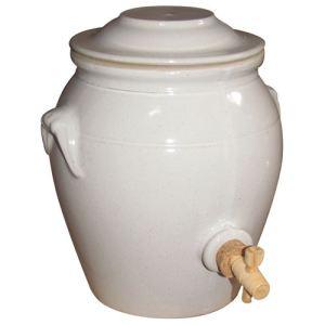 Digoin ceramique Vinaigrier Ecume en grès (4 L)