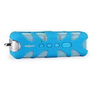 OneConcept Know - Enceinte portable Bluetooth étanche streaming audio