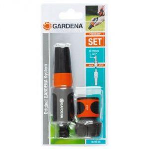 Gardena 18290-26 - Nécessaire d'arrosage 19 mm pour équiper un tuyau Ø 19 mm