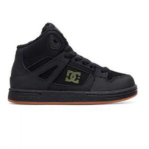 DC Shoes Pure High WNT - Chaussures montantes - Garçon Enfant - EU 37 - Noir