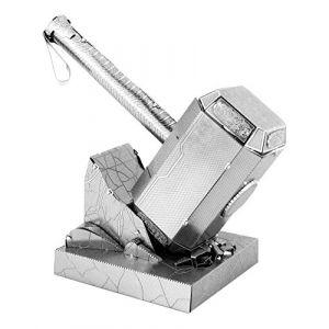 Metal Earth 5061320 - Maquette 3D - Avengers - Thor's Hammer Mjöllnir - 7,5 x 4,5 x 7,8 cm